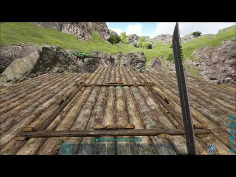 ARk crazy floating island/base/pill box GLITCH