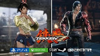 TEKKEN 7™ Combo Exhibition Josie Rizal, Jin Kazama & Devil Jin Reveal / PS4, XBOXone Gameplay 1080p!