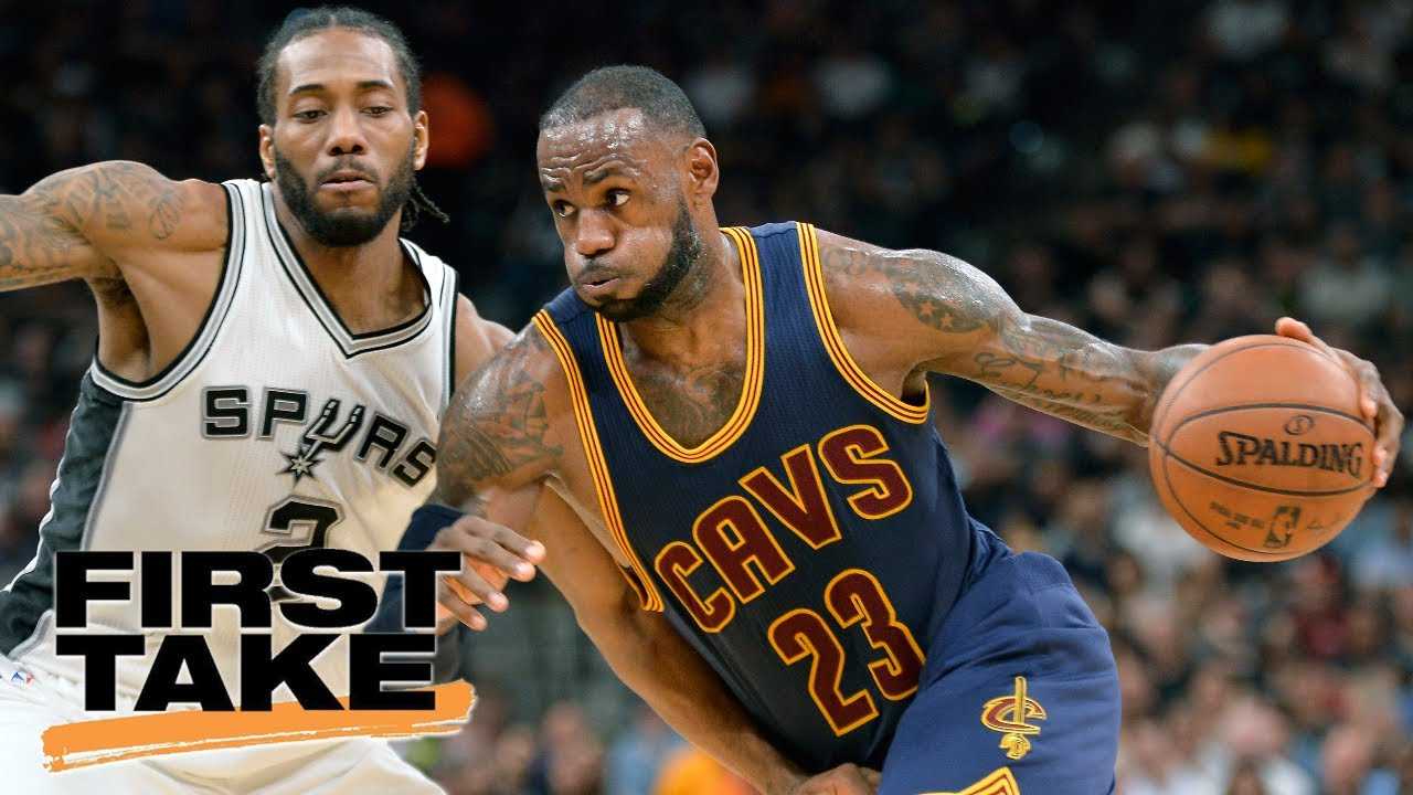 the latest 2bfa0 b76a7 LeBron James Must Join Spurs To Beat Warriors | Final Take | First Take |  June 15, 2017