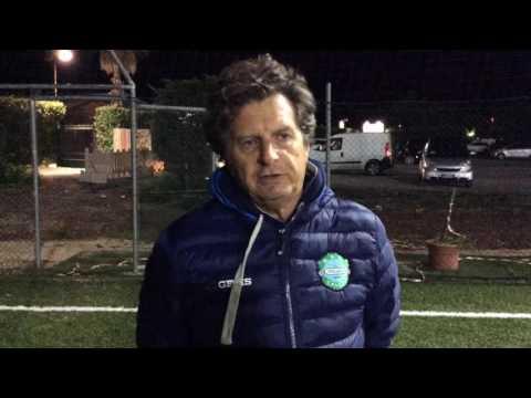 Atletico Fiumicino 3-3 Alitalia Calcio | Serie A - 3ª | Intervista - Foschi (Ali)