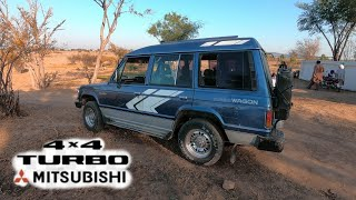 Mitsubishi pajero offroading project complete my village