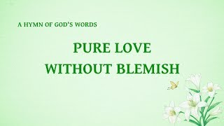 "2019 Popular Worship Song About God's Love | ""Pure Love Without Blemish"""