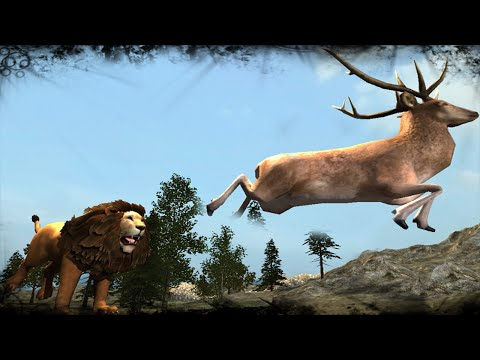 Real Lion Simulator - Lions Hunting Game
