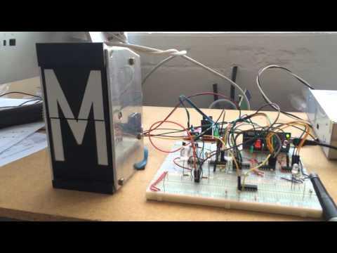 Split-flap Controller demo