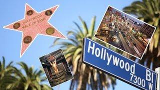 Аллея звезд Лос-Анджелес. Поход в кино