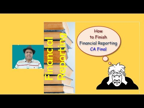 FR SECRET LEAKED. How to study Financial Reporting CA Final. Complete FR in 15 days .