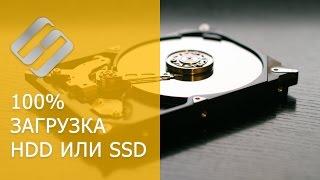 Тормозит компьютер, ноутбук  и HDD загружен на 100% - что делать в Windows 10, 8 или 7(, 2017-03-21T13:11:29.000Z)