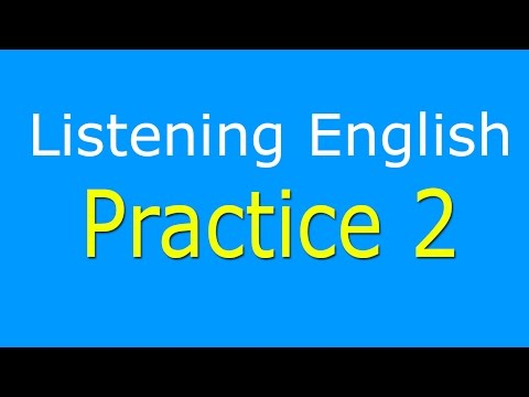 English Listening Practice Level 2 - Learn English Listening