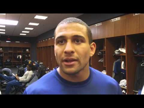 Colts running back Donald Brown