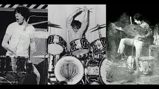 Keith MOON: 10 Best Drum SOLOS & Cuts Of The Best Drumming MOMENTS/Кит МУН: СОЛО на барабанах!