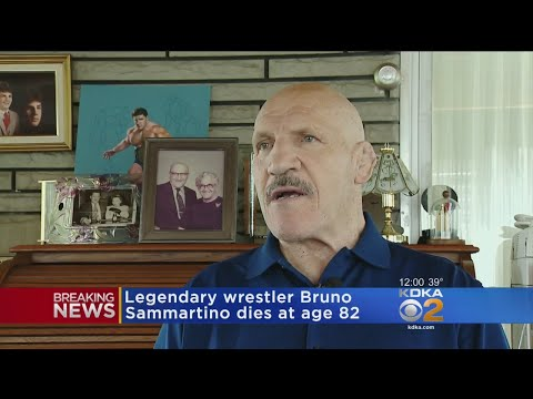 WWE Hall Of Famer Bruno Sammartino Dies At 82