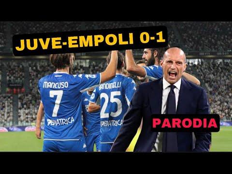 JUVE - EMPOLI  0-1 - Parodia Allegri