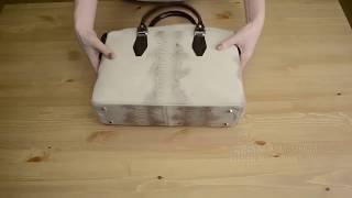 Видео обзор итальянской сумки Capaccioli CA 520030 для магазина BorsaToscana.ru