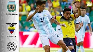 Argentina 6 - 1 Ecuador - HIGHLIGHTS & GOALS - 10/13/19
