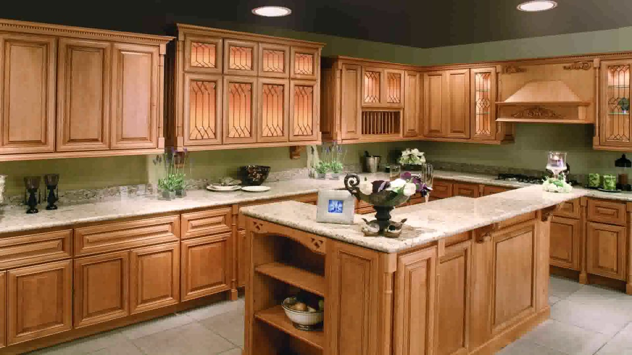 Whitewash Kitchen Cabinets