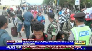 Puluhan Pencari Kerja Asal NTT Tiba Di Bali