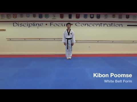 Kibon Poomse - White Belt Form