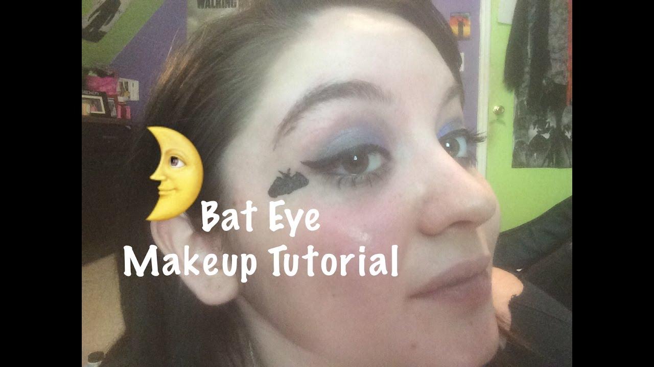 Bat eye makeup tutorial youtube baditri Gallery