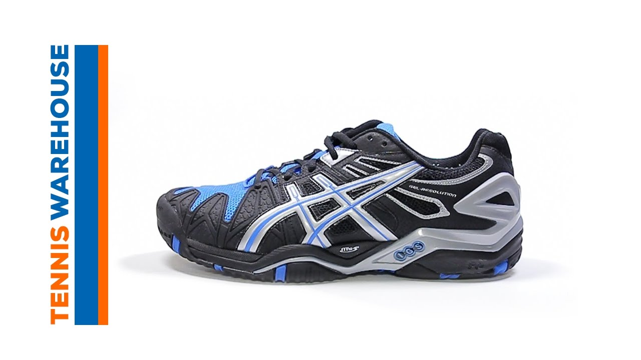 5d7bc549bdbc Asics Gel Resolution 5 Men s Shoe Review - YouTube