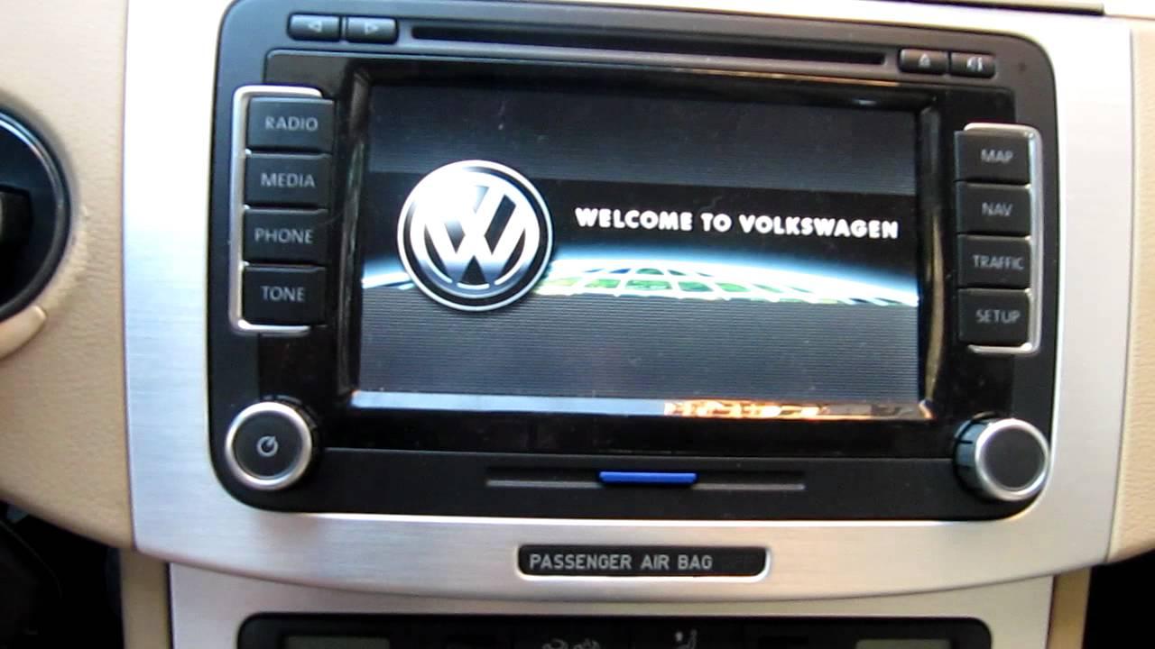 Volkswagen Passat RNS510 Video In Motion Unlock - YouTube