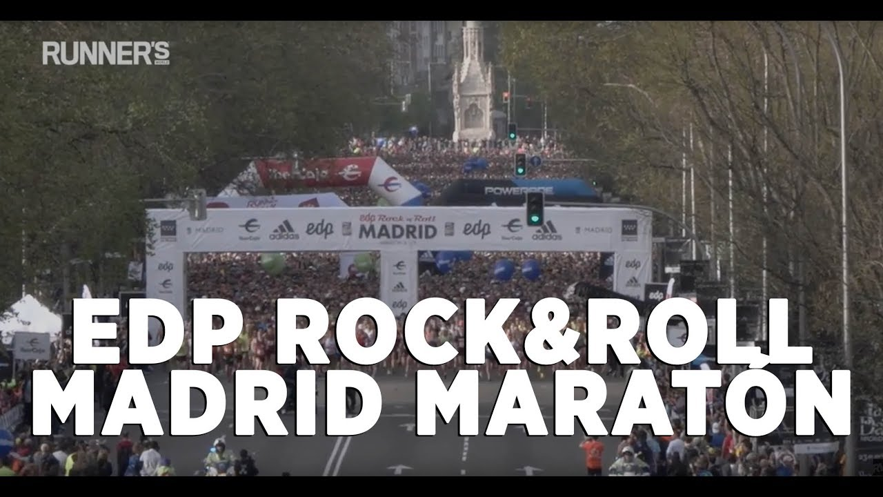 recorrido media maraton madrid rock and roll