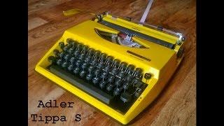 Maszyna do pisania Adler Tippa S - opis i prezentacja.