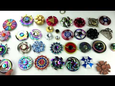 Tons of Round Fidget Spinners: Ferrris Wheels, Tires, Sheilds, Flowers, etc