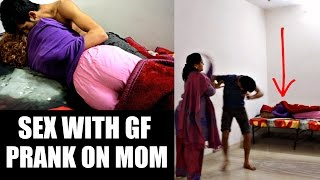 vuclip Sex With Girlfriend Prank on MOM | AVRprankTV