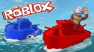 Proprietà Roblox . RED VS BLUE BATTLE BATTLESHIP WAR! (Roblox Navy Fleet)