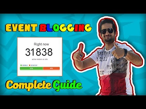 Event blogging: Complete Guide in Urdu/Hindi By Aamir IQBAL