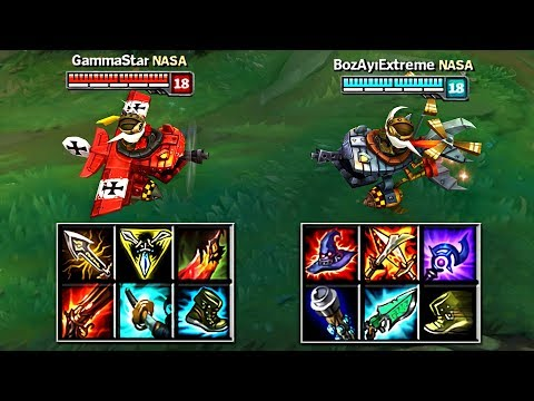 AD CORKI vs AP CORKI FULL BUILD FIGHTS & Best Moments!