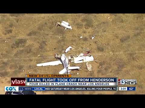 4 people killed in plane crash in California