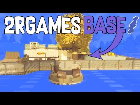 """RAIDING """"THE 2RGAMES BASE"""" !! Found the new Luger 
