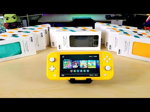 Nintendo Switch Lite Case Line-Up Review from Kiwi Design..