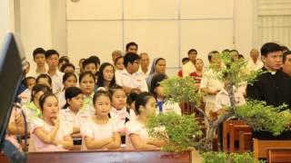 Kỷ niệm 15 năm Hồng ân Linh mục của Cha Chánh xứ Giuse Nguyễn Đức Trí 2016
