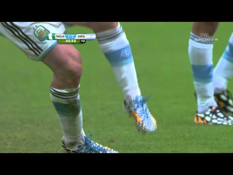 World Cup 2014 Group F Nigeria vs Argentina 2014 All Goals/Nigeria - Argentyna