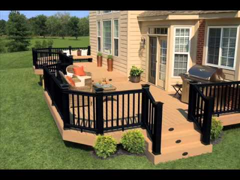 Cheap decking ideas youtube for Cheap decking material