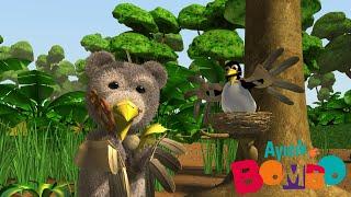 Ayıcık Bombo 🧸 Bombo ve Yavru Kuş  minika