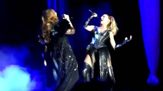 Mónica Naranjo y Edurne - Pantera en libertad. Tour MN 4.0 Madrid. 20/06/2014