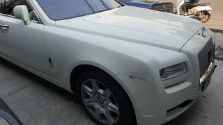 in depth tour rolls royce ghost 2011 indonesia