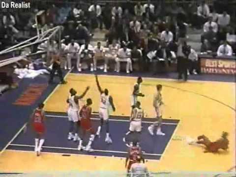 Bernard King (44pts/12rebs/6asts/4stls) vs. Knicks (1991)