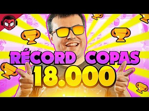 SUPERO MI RÉCORD DE COPAS ¡¡18.000 TROFEOS!!   Brawl Stars