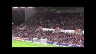Stoke Fans v Sheffield Wednesday Fans 01/12/15