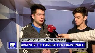 Deportes: Selección de Handball de Chubut.