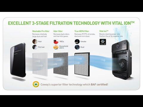 best air purifier for allergies coway ap 1012gh smart air purifier