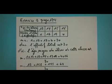 Correction des exercices de statistique | (MATHS - 2AC ...