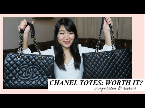 CHANEL CLASSIC TOTE vs. GST: WORTH THE MONEY? (COMPARISON, REVIEW, WEAR & TEAR)