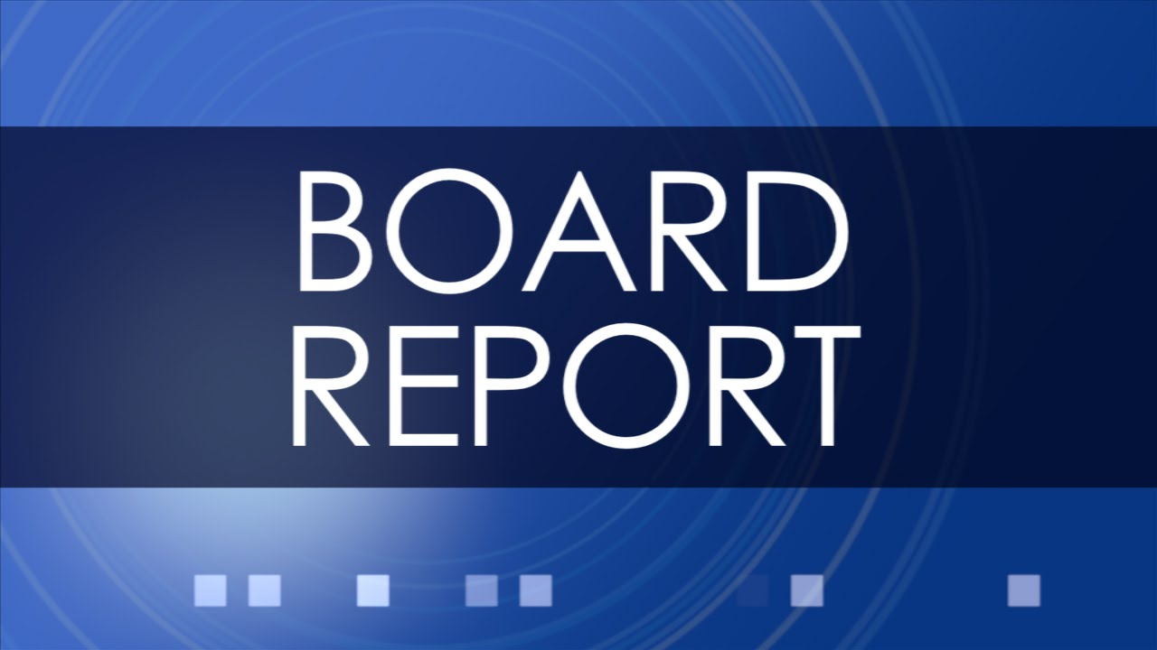 November 2015 MSBA Board Report YouTube – Board Report