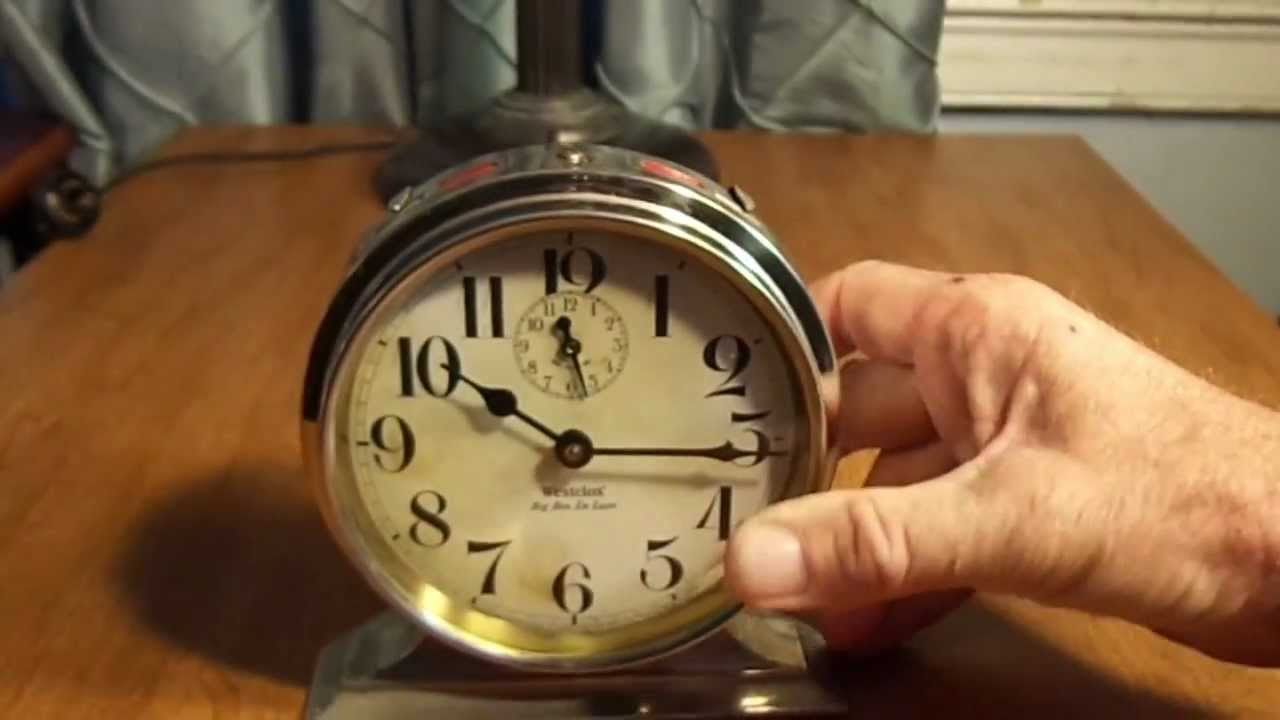 1920s Westclox Big Ben Delux Alarm Clock Youtube
