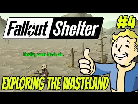 Fallout Shelter #4 - Exploring The Wasteland  (iOS Gameplay)